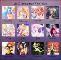 2012 Summary of Art by kaminary-san