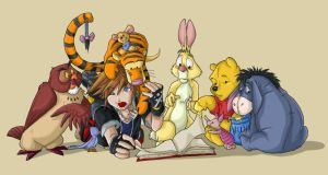 Collab - KH Storytime by Kiriska