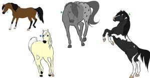 Realisitc Point Adoptables *OPEN* by LozzLovesHorses