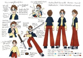 Character Sheet: Zach by Samurai-Sky