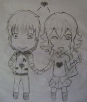 Nelson and Mailen Chibis by Jocy-007