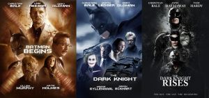 DARK KNIGHT TRILOGY POSTERS by Umbridge1986