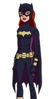 Young Justice Batgirl by Glee-chan