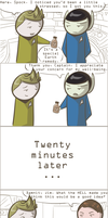 101 Ways to Make a Vulcan Laugh: 014 by TheVeggieSalad