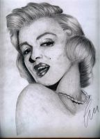 Marilyn Monroe by SweetSophie