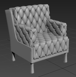 High Poly Chair by Smezz