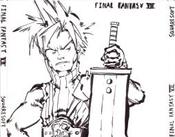 Cloud: FFVII Cover by Gumbogamer