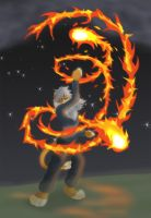 Fire Dancer +Poi+ by That-Stupid-Dingo