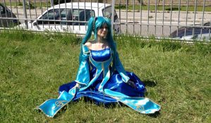 Sona Cosplay by HolyElfGirl
