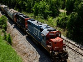 Grand Trunk and Canadian National by texasghost