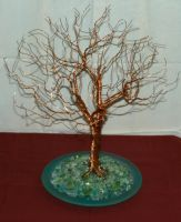 BRANCHING COPPER TREE by movinkindaslow