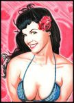 Another portrait of Bettie by otherdruid