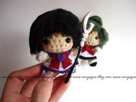Sailor Saturn Amigurumi by AnyaZoe