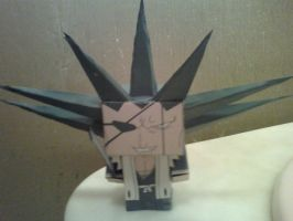 Kenpachi Zaraki Cubee Finished by rubenimus21