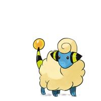 No.179: Mareep by GnarPotatoes