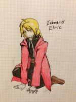 Edward Elric for H0UND0UR by TheDarkAssasin