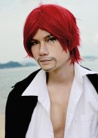 Red-Haired Shanks by BlackJAckKal