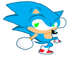 Sonic grind pose. by greenate