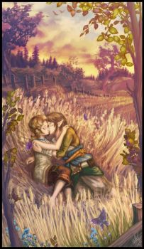 Link and Ilia by StellaB