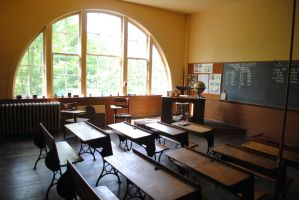 One-Room School House by morbiusx33