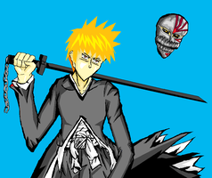 Ichigo paint by souleater008