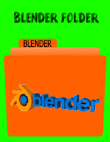 Blender Folder windows by skates99