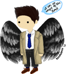 Castiel by Toadstoool