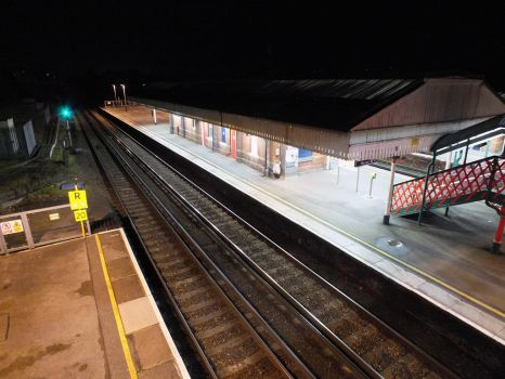 St Denys Railway Station [Night] by ggeudraco