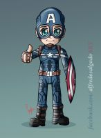 Captain America by posole