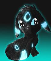 Shiny umbreon by ScorpionsKissx