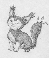 Real Skitty by Mewstor
