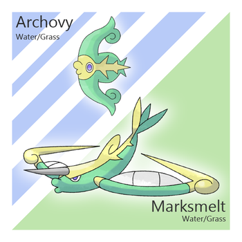 Archovy and Marksmelt by Tsunfished