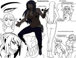 Thuringwethil by drowtales