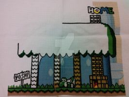 Home Sweet Home Yoshi WIP 052 by bobcrochets