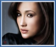 Asian Beauty_Maggie Q. II by straycat27