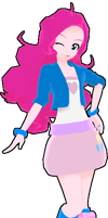 RxNxD Equestria Girls Pinkie Pie by RinXNeruXD