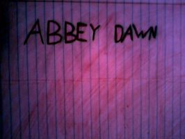 Abbey Dawn by bluemoonfairy99