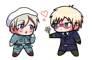 Hetalia - Sweden x Finland by MarinePearl