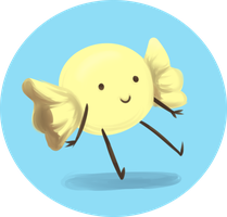 Lemonhead Button Thing by favouritefi