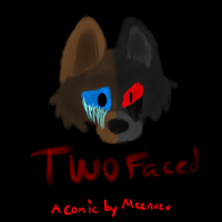 Two-faced (comic) by Meenuzu