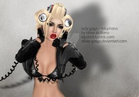 Telephone - Lady Gaga by olivia-paige