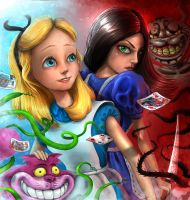 The Faces of Alice by MakingPicsSlowly