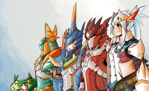 Monster Hunter Tri ultimate by DicedApple