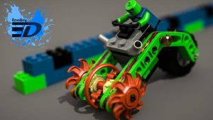 Lego Speed model by Rooboy3D