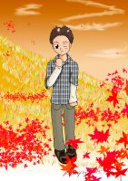 Herbst Junge by Anupap