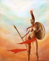 Girl of sparta by 2lua