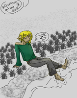 Freshers Fair [HH] Alone after a long day by Holographic-Neku