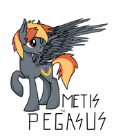 Metis the Pegasus by NavigatorAlligator