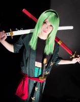 One Piece - Fem Zoro IV by GreenTea-Cosplay