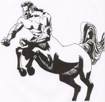Superman as Centaur by Stonegate